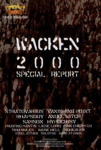 Cover - Nik Petrov And Anna, Peter Peeters And Peter: Wacken 2000 Special Report
