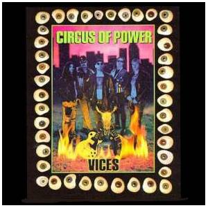 Circus Of Power: Vices - Cover