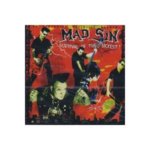 Cover - Mad Sin: Survival Of The Sickest!