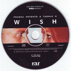 Franka Potente & Thomas D: Wish (Single-CD) - Bild 3
