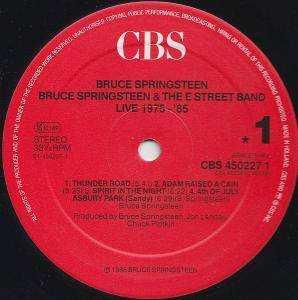 Bruce Springsteen & The E Street Band: Live/1975-85 (5-LP) - Bild 3
