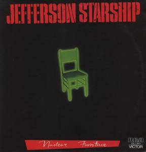 Jefferson Starship: Nuclear Furniture - Cover