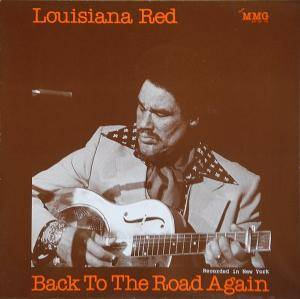 Cover - Louisiana Red: Back To The Road Again