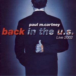 Paul McCartney: Back In The U.S. - Cover