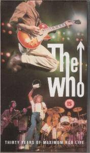 The Who: Thirty Years Of Maximum R&B Live - Cover