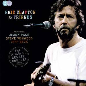 Cover - Steve Winwood: Eric Clapton & Friends: The A.R.M.S. Benefit Concert From London