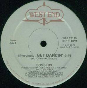 Bombers: (Everybody) Get Dancin' - Cover