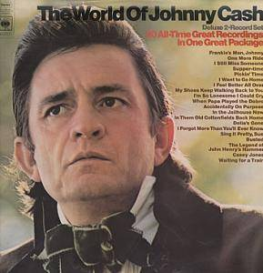 Johnny Cash: World Of Johnny Cash, The - Cover