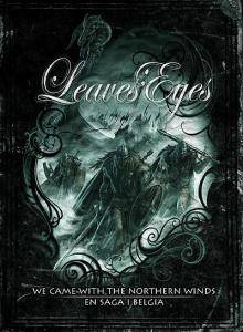 Leaves' Eyes: We Came With The Northern Winds - En Saga I Belgia - Cover