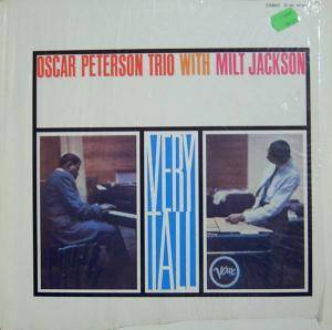 Oscar Peterson Trio & Milt Jackson: Very Tall (LP) - Bild 1