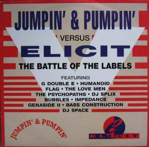 Cover - Genaside II: Jumpin' & Pumpin' Versus Elicit (Battle Of The Labels)