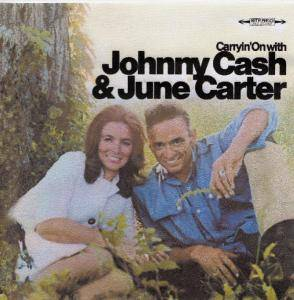 Johnny Cash & June Carter Cash: Carryin' On With - Cover