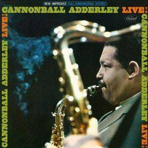 Cover - Cannonball Adderley: Live!