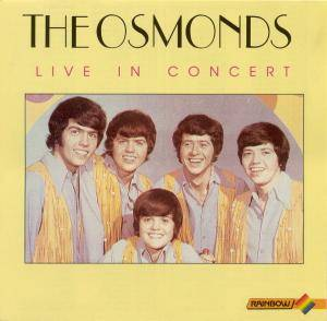 Cover - Osmonds, The: Live In Concert