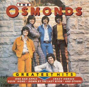 The Osmonds: Greatest Hits - Cover