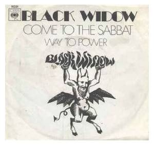 Cover - Black Widow: Come To The Sabbat