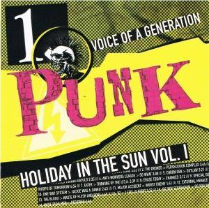 Punk - Voice Of A Generation - 1. Holiday In The Sun Vol.1 - Cover