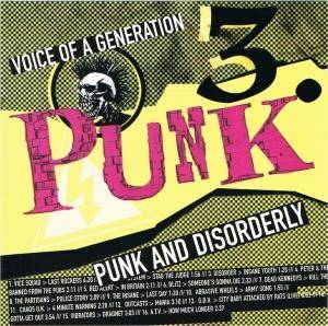 Punk - Voice Of A Generation - 3. Punk And Disorderly - Cover