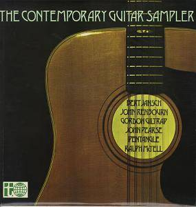Contemporary Guitar Sampler, The - Cover