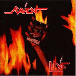 Raven: Live At The Inferno - Cover