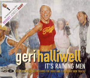 Cover - Geri Halliwell: It's Raining Men