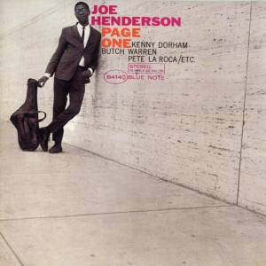 Joe Henderson: Page One - Cover