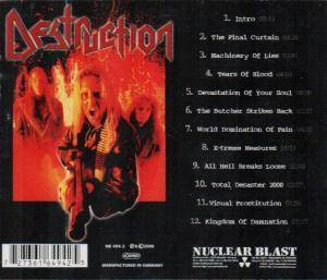 Destruction: All Hell Breaks Loose (CD) - Bild 2
