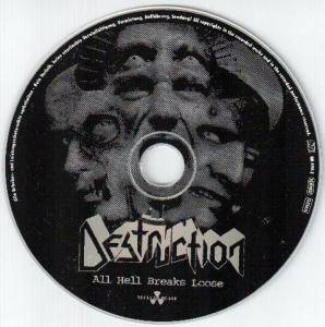 Destruction: All Hell Breaks Loose (CD) - Bild 3