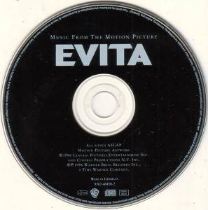 Andrew Lloyd Webber: Evita - Music From The Motion Picture Soundtrack (CD) - Bild 4