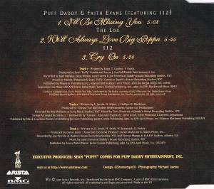 Puff Daddy & Faith Evans Feat. 112 / The LOX / 112: Tribute To The Notorious B.I.G. (Split-Single-CD) - Bild 4