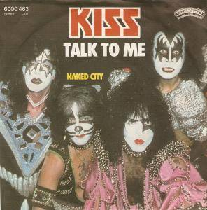 KISS: Talk To Me - Cover