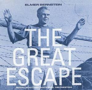 Elmer Bernstein: Great Escape, The - Cover