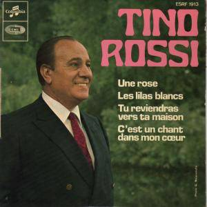 Tino Rossi: Une Rose - Cover