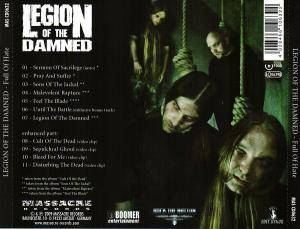 Legion Of The Damned: Full Of Hate (CD) - Bild 2