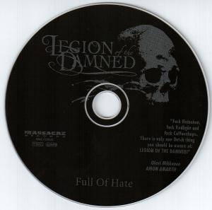 Legion Of The Damned: Full Of Hate (CD) - Bild 3