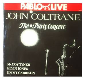 John Coltrane: Paris Concert, The - Cover