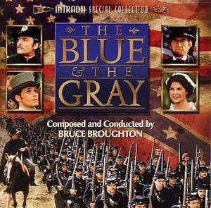 Cover - Bruce Broughton: Blue & The Gray, The