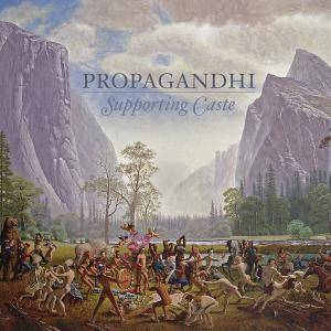 Propagandhi: Supporting Caste - Cover