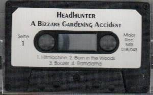 Cover - Headhunter: Bizarre Gardening Accident / The Christhunt, A