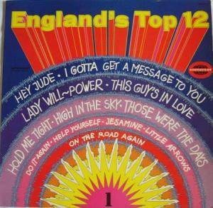 Cover - Noel Gallagher: England's Top 12 - Vol. 1