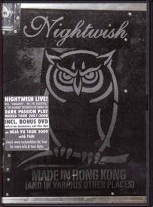 Nightwish: Made In Hong Kong (And In Various Other Places) - Cover