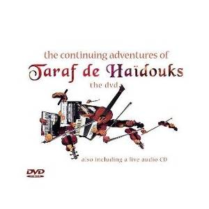 Cover - Taraf De Haïdouks: Continuing Adventures Of Taraf De Haidouks, The