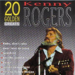 Kenny Rogers & The First Edition: 20 Golden Greats - Cover
