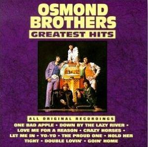 Cover - Osmonds, The: Osmond Brothers Greatest Hits