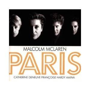 Cover - Malcolm McLaren: Paris