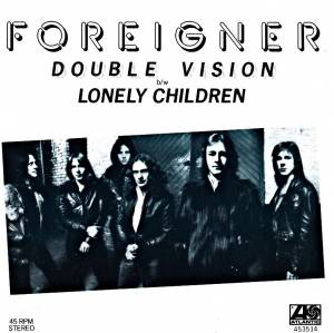 Foreigner: Double Vision - Cover
