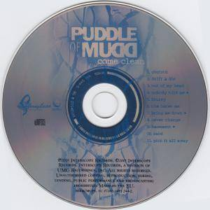 Puddle Of Mudd: Come Clean (CD) - Bild 3