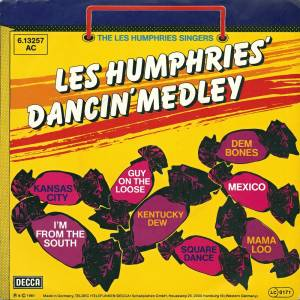 The Les Humphries Singers: Les Humphries' Dancin' Medley - Cover