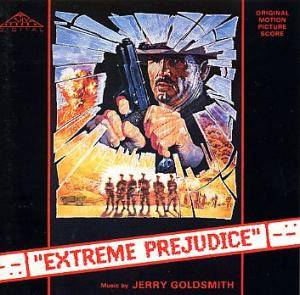 Jerry Goldsmith: Extreme Prejudice - Cover