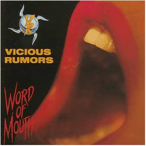 Vicious Rumors: Word Of Mouth - Cover
